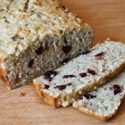 Cranberry Banana Oat Bread Recipe