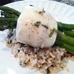 Tilapia Asparagus Bundles With White Wine Sauce Recipe