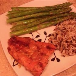 Honey Pepper Salmon