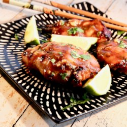 Thai-Inspired Grilled Chicken Thighs