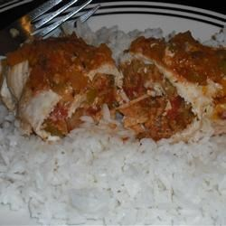 Chili Cumin Stuffed Chicken Breasts Recipe