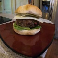 air fryer burgers printer friendly