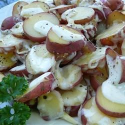 Cheesy Ranch New Red Potatoes Recipe