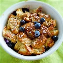 Blueberry Strata Recipe