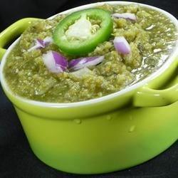 Chihuahua-Style Salsa Verde Recipe