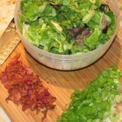Killed Lettuce and Onion Recipe