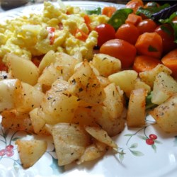 Spicy Potatoes and Scrambled Eggs Recipe