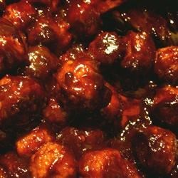 Playoff Meatballs Recipe