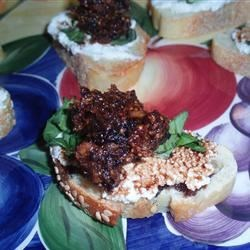 Photo of Fig and Ricotta Crostini by Rachel Wolkofsky Pollack