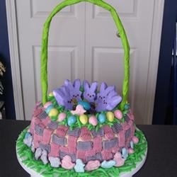 Easter Basket Cake Recipe
