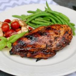 grilled balsamic chicken breast printer friendly