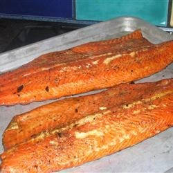 Hickory Smoked Salmon