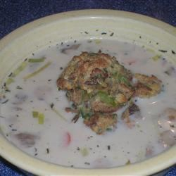 Thanksgiving Soup with 'Stuffin' Muffin