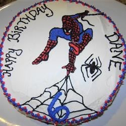 Dane's Spiderman Cake