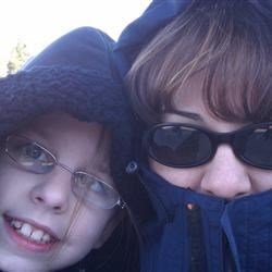 Kate & I at Pt Defiance Zoo in Tacoma WA