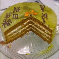 Green Tea Layer Cake