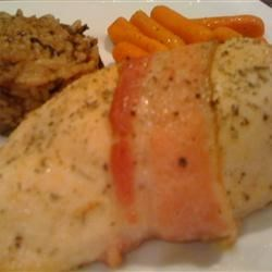 Photo of Honey Glazed Stuffed Chicken by CORRINA13