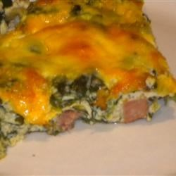 Ham and Cheese Omelet Casserole Recipe
