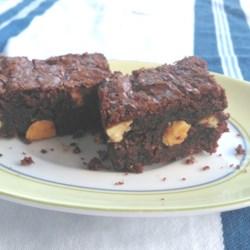 dark chocolate orange brownies printer friendly