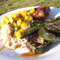 Gwyneth Paltrow's Grilled Halibut With Mango-Avocado Salsa Recipes ...