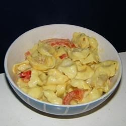Pesto Pepper Tortellini Recipe