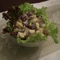 Fruited Tofu Curry Salad Recipe