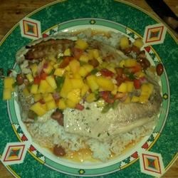 Grilled Tilapia and Mango Salsa Recipe - Allrecipes.com