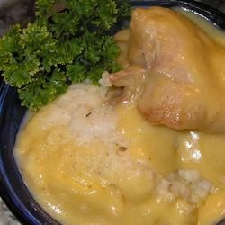 Chicken with Herb Dumplings Recipe