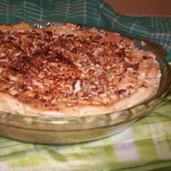 Pecan Butterscotch Pie