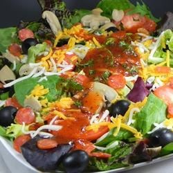 Pizza Salad I Recipe