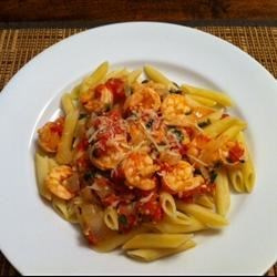 Spicy Shrimp and Tomato Scampi Recipe