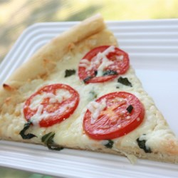 Four Cheese Margherita Pizza Recipe