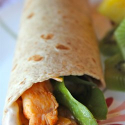 Simple Sweet and Spicy Chicken Wraps Recipe