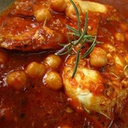 Italian Chicken and Chickpeas Recipe