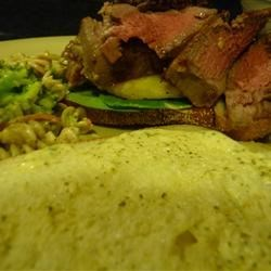 Tropical Steak Sandwich Recipe