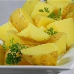Boiled Mustard Potatoes