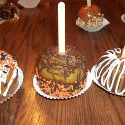 Gourmet Caramel Apples Recipe