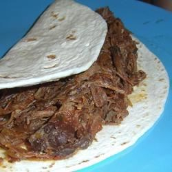 Shredded Tri-Tip for Tacos in the Slow Cooker
