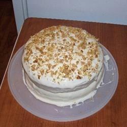 Carrot Cake X Recipe
