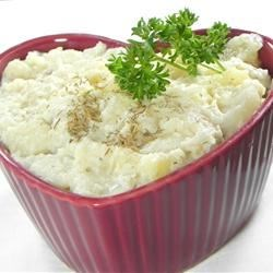 Dilled Creamed Potatoes Recipe