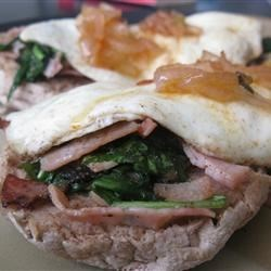 Photo of Barb's Supreme Curried Ham and Egg Stacks by Always Cooking Up Something