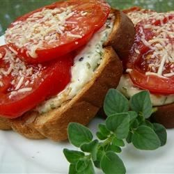 Mama's Best Broiled Tomato Sandwich Recipe