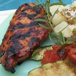 Ty's Barbequed Chicken Recipe