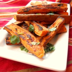 Tropical Sweet Potato Fries Recipe