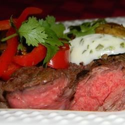Mushroom Crusted Beef Tenderloin Recipe