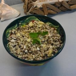 Photo of Minty Orzo Lentil and Feta Salad by KAGRECO