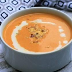 keto pumpkin soup printer friendly
