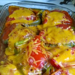 Lancaster County Stuffed Green Pepper Boats