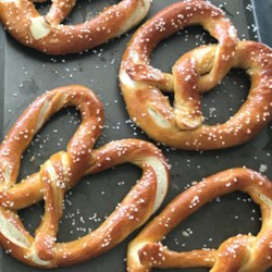 buttery soft pretzels printer friendly