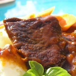 Photo of Barbeque Style Braised Short Ribs by Valerie Brunmeier